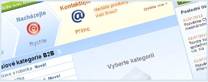 Hľadáte priemyslové výrobky a služby?