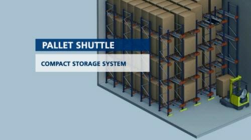 Pallet Shuttle regálové systémy