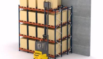 Paletové systémy Push-back