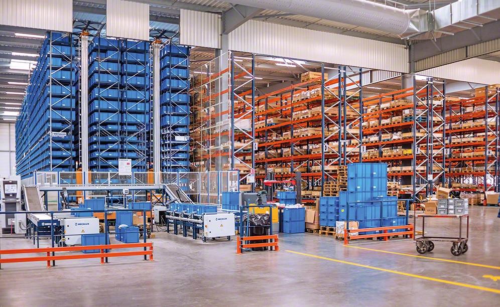 Dopravníkové systémy pre krabice a prepravky